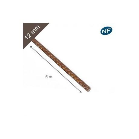 Fer à béton acier torsadé 12mm
